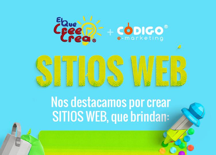 Nos destacamos por crear Sitios Web